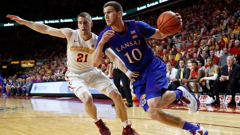 KU's Mykhailiuk to enter NBA draft without hiring agent