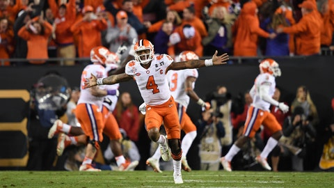 Position Grades: Deshaun Watson reaches another stratosphere against Alabama