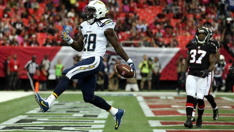 2. Melvin Gordon, Chargers