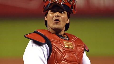 Puerto Rico (Bayamon): Yadier Molina, C, St. Louis Cardinals