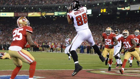 Falcons Can't Hold On in 2012