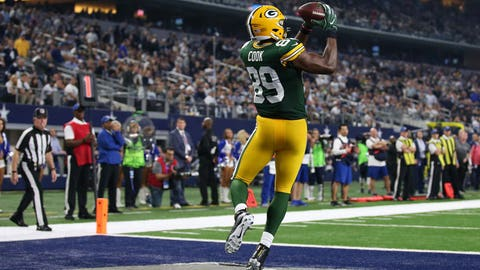 Jared Cook is a weapon for Aaron Rodgers