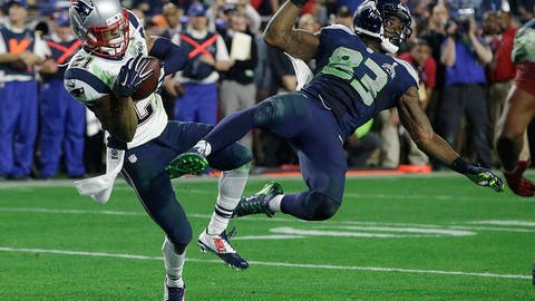 Malcolm Butler becomes an instant legend with a game-saving, mind-blowing interception at the goal line (SB XLIX vs. Seahawks)