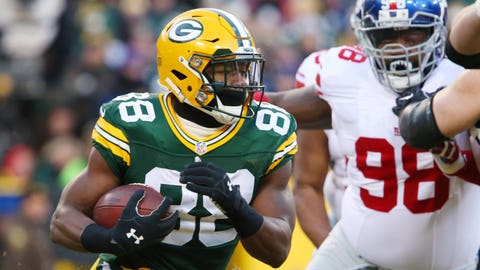 Ty Montgomery, RB, Packers