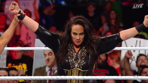Nia Jax defeated Sasha Banks
