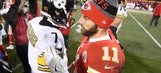 Steelers advance to AFC Championship with 18-16 win over Chiefs