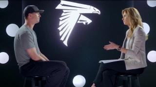 Matt Ryan interview with Erin Andrews before NFC Title Game | FOX NFL SUNDAY