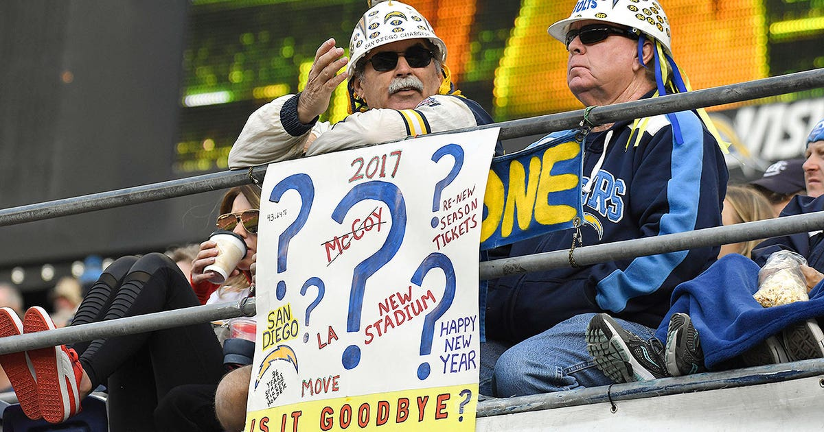 San Diego Mayor: 'The Chargers made the wrong choice.'