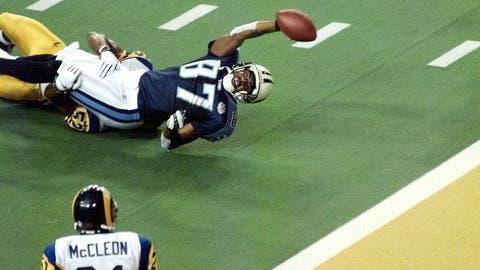 Super Bowl XXXIV (Atlanta): Rams 23, Titans 16
