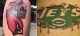 Every NFL team's logo as a bad tattoo