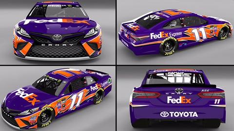 Denny Hamlin, FedEx