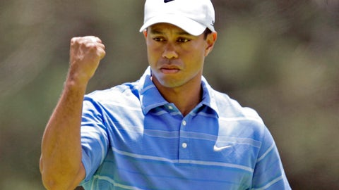 How many tournaments will Tiger win?