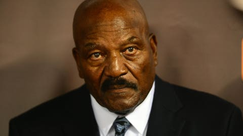 Jim Brown - Cleveland Browns, RB - July 14, 1966