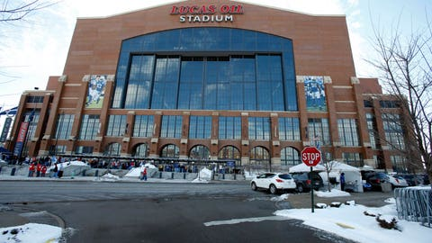 Indianapolis (Lucas Oil Stadium) - 2012