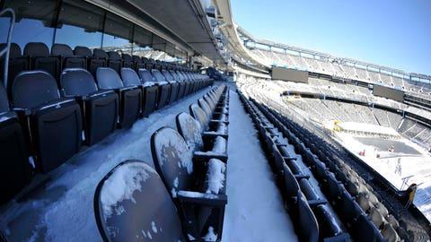 NFL: Super Bowl XLVIII Stadium Preparations