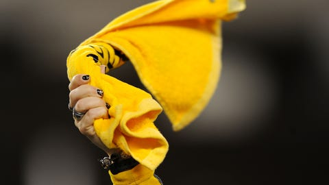 Terrible Towel from Super Bowl X