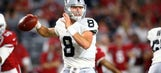 He's no Derek Carr, but the Raiders are not totally doomed with Connor Cook at quarterback