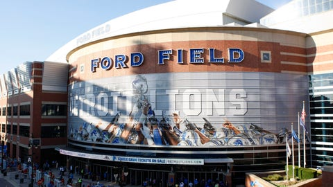 Indianapolis Colts: Ford Field (Lions)