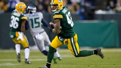 Week 14: The Packers secondary intercepts five Russell Wilson passes