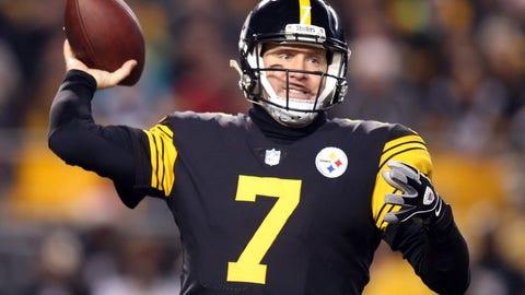 QB Ben Roethlisberger, Steelers: 13 years