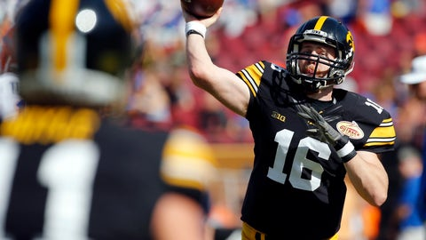 C.J. Beathard, Iowa