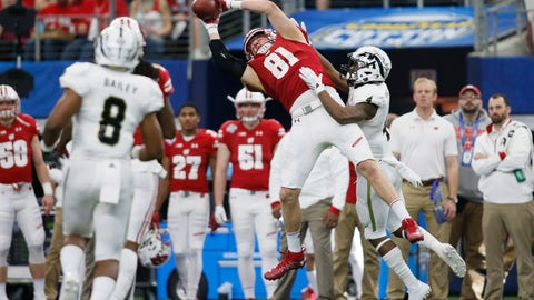 Tight end: Troy Fumagalli - Wisconsin