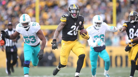 Steelers 30 - Dolphins 12