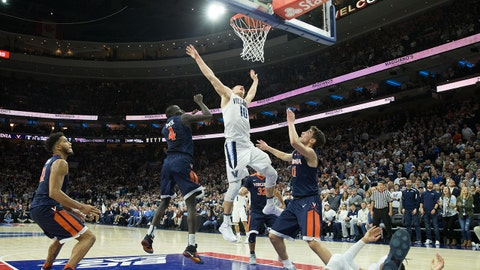 Villanova wins the game of the weekend