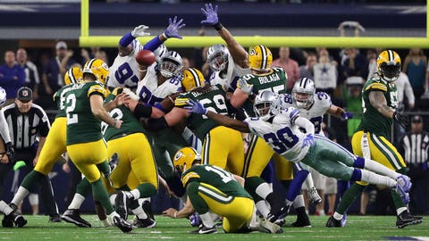 High Point: Last-second win over Dallas in the NFC playoffs