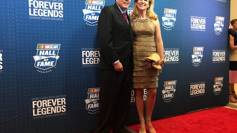 NASCAR Hall of Fame chairman Winston Kelly