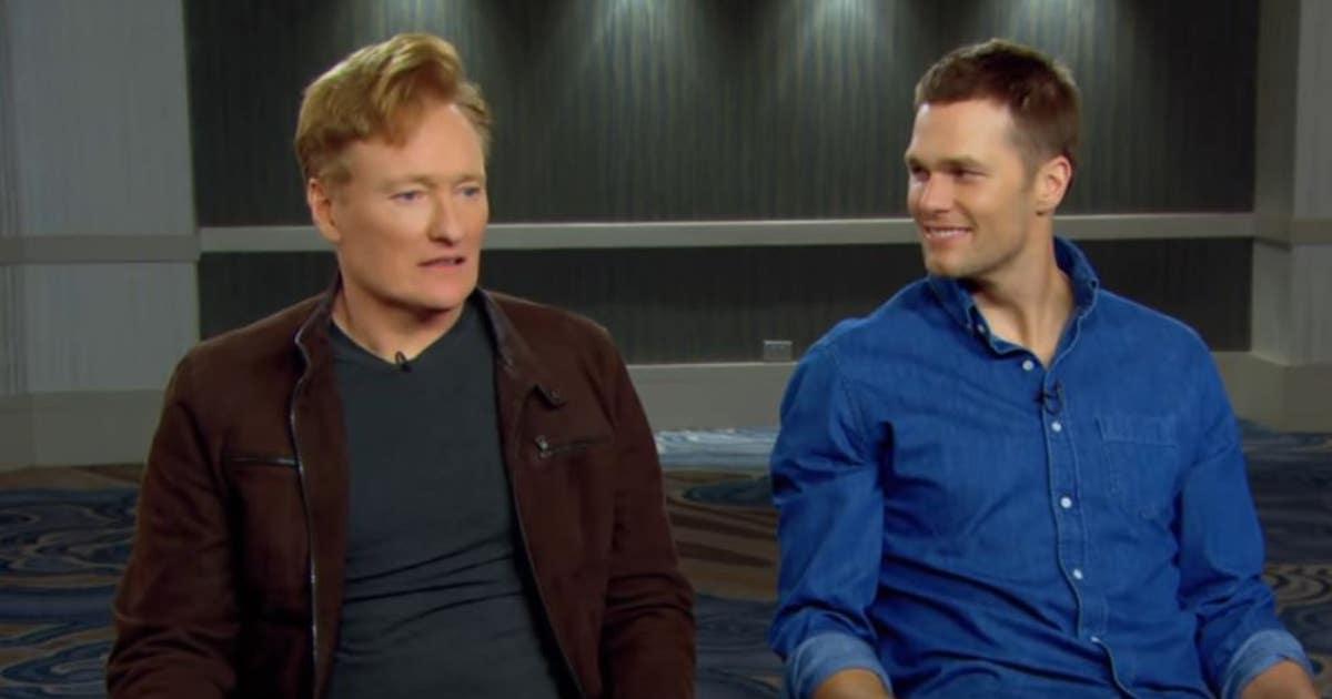 Watch Tom Brady destroy Conan O'Brien at video games, take on Dwight Freeney