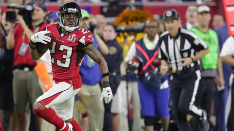 Robert Alford comes up with a backbreaking interception