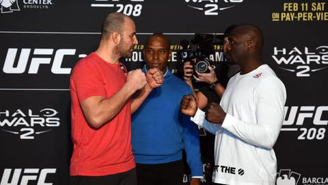 Glover Teixeira vs. Jared Cannonier