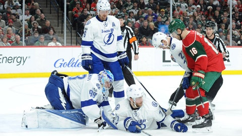 NHL: Tampa Bay Lightning at Minnesota Wild