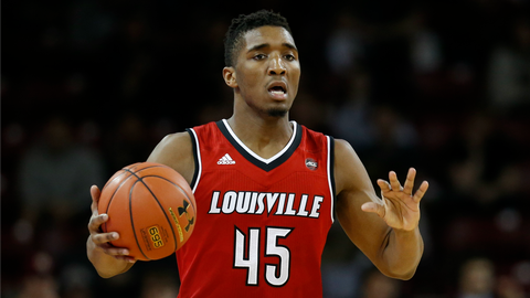 Louisville (Fatal Flaw: A bad game from Donovan Mitchell)