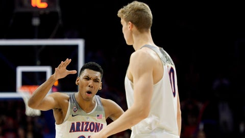 Arizona: No. 3 seed in Midwest