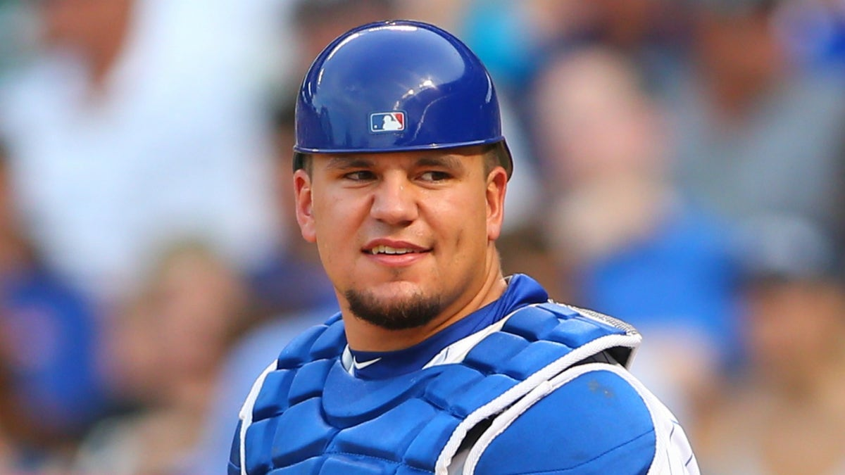 The Cubs are talking about giving Kyle Schwarber some time behind the plate