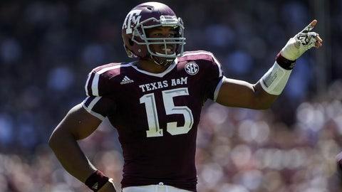 Texas A&M DE Myles Garrett: Jadeveon Clowney, Texans