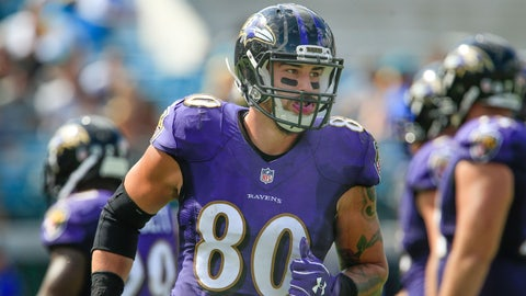 Crockett Gillmore, TE, Ravens