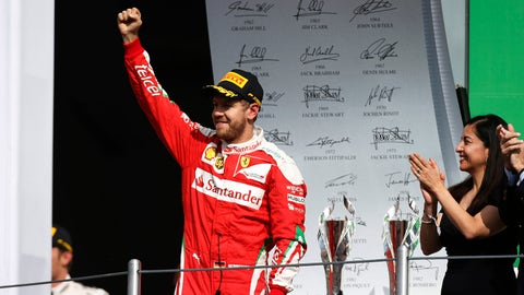 Sebastian Vettel - $30 million (plus bonuses)