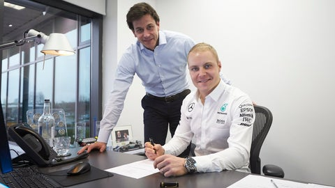 Valtteri Bottas - $8.5 million (includes bonuses)