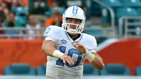 Mitchell Trubisky, QB, North Carolina