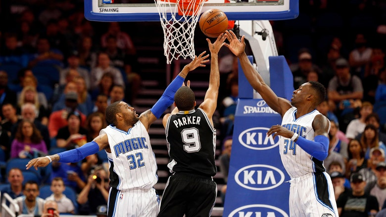 Magic ousted by Spurs in wire-to-wire loss