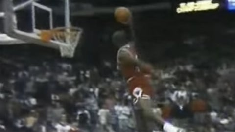 Another free-throw line dunk