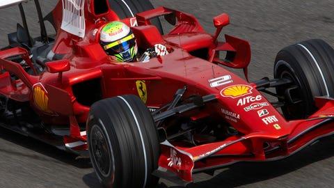 10. Ferrari F2008