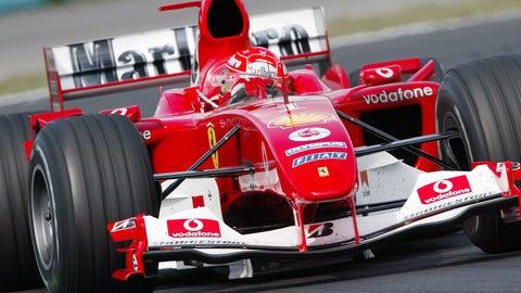 1. Ferrari F2004
