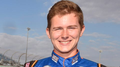 Matt Tifft will start alongside pole-sitter Tom Hessert for the 2017 ARCA season-opening race at Daytona International Speedway in Daytona Beach, Florida. (Photo: Nigel Kinrade/LAT Photographic)