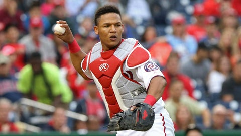 The Nationals have catching depth for a trade