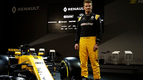 Nico Hulkenberg switches from Force India to Renault for the 2017 F1 season. (Photo: Glenn Dunbar/LAT Photographic)