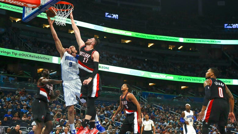 Magic give up 35 points in 4th quarter, fall to Trail Blazers